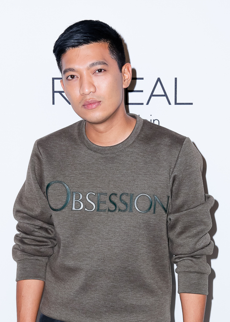Bryanboy at the Calvin Klein Reveal launch