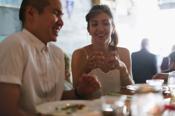 Celine Kim Photography intimate High Park Parkdale restaurant wedding Toronto wedding EM-67