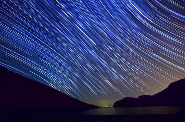 Estrellas con estela