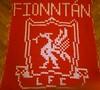 Liverpool blanket for Fionntan