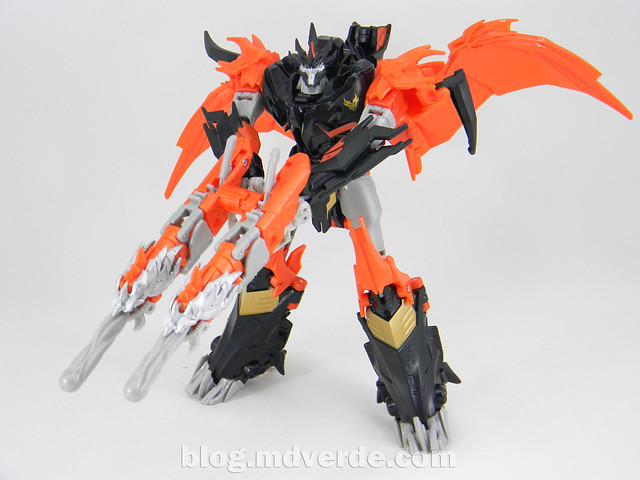 Transformers Predaking Voyager - Transformers Prime Beast Hunters - modo robot