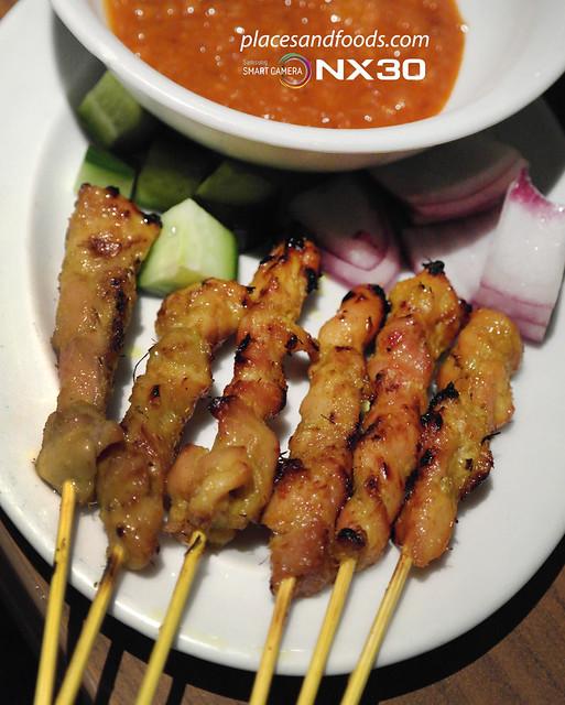 mamak chicken satay