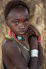 Ethiopia, beautiful Hamer girl