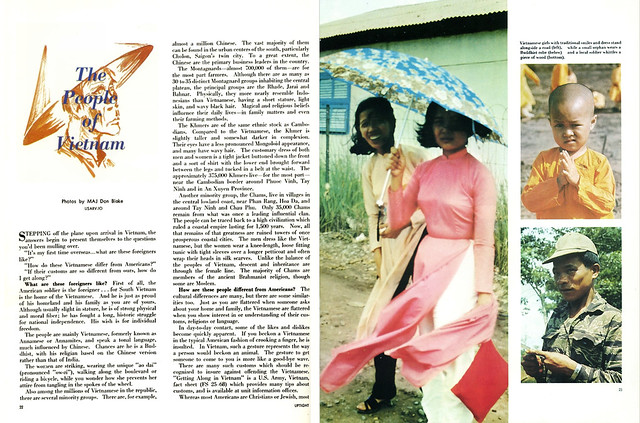 Uptight Magazine, Vietnam, Winter of 1969 (4) - THE PEOPLE OF VIETNAM