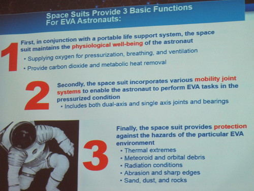 Amy Ross keynote on designing spacesuits for NASA