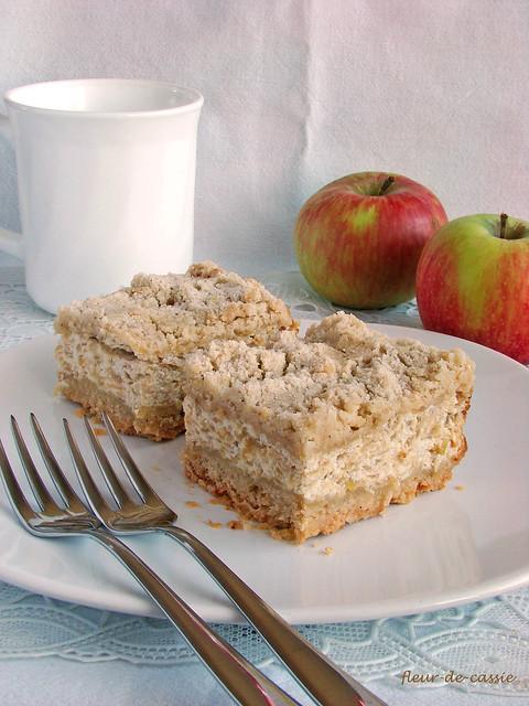 творожно-яблочный пирог 2