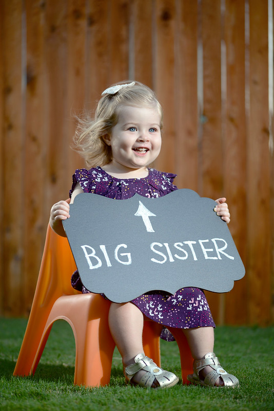 Big sister status coming March 2015