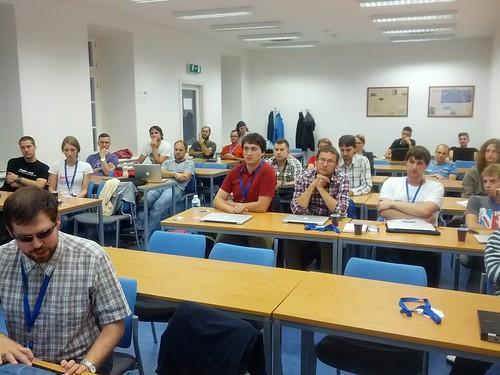 Účastníci workshopu Přstupnost pro kodéry