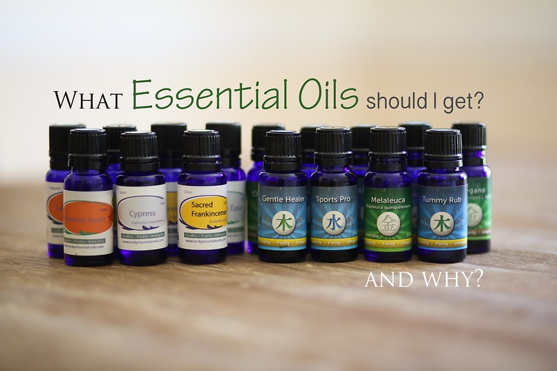What Essential Oils should I gave? A beginners guide explaining what oils to start with and why.