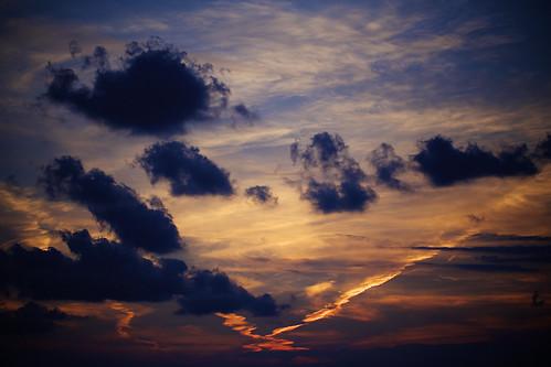 sunset japan cloudy enoshima kanagawa enoshimakugenumabeach