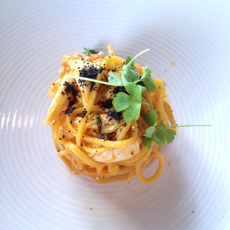 il Lido_Tagliolini with Crab, Amalfi Lemon and Tarragon