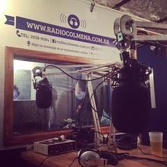 De 20 a 21:30 vamos a estar al aire con Javier Cohen en #Nuncafuimosmodernos #RadioColmena con Diego Banfi
