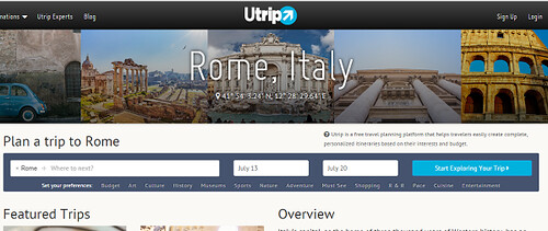 Utrip screenshot