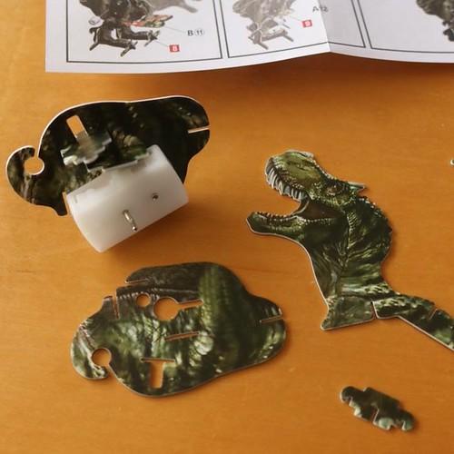 ダイソーのティラノサウルス