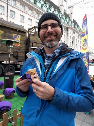Cadbury Creme Egg S'mores!