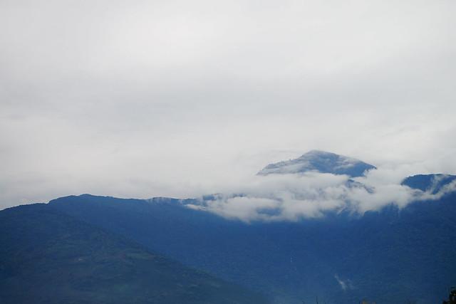 天氣不是很好,但可見遠處的山嵐雲霧 (Photo by Lilygloria)