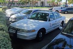 La Habra CA Police - Parking Enforcement - Ford Crown Victoria (58)