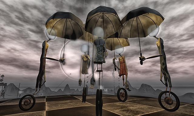 Empty minds by Romy Nayar
