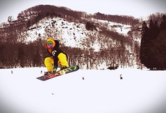 Snowboard never stop