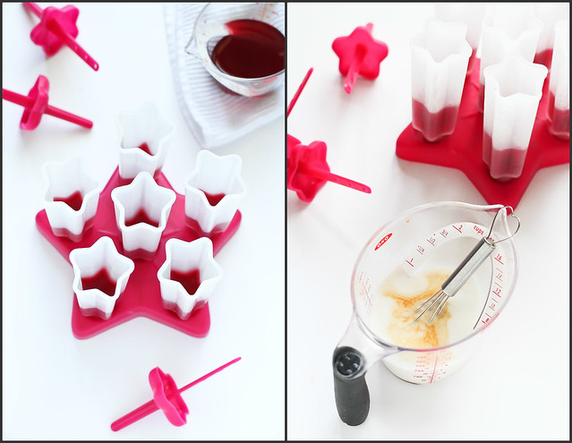Tart Cherry & Coconut Milk Popsicles Recipe | cookincanuck.com #running