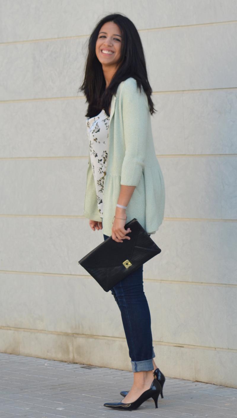florenciablog working girl mint inspiration fashion blogger spain clutch zara look  (10)