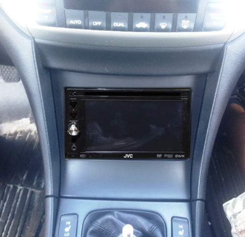 New Double Din Kit For TSX Acura TSX Forum - 2004 acura tl dash kit