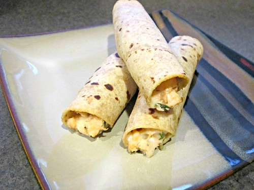 Garlic Pesto Cilantro Salmon Taquitos 2