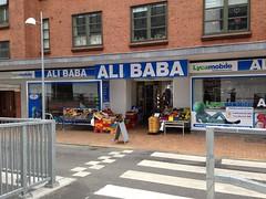 Ali Baba Sonderborg - New ethnic shop opened across from Borgen