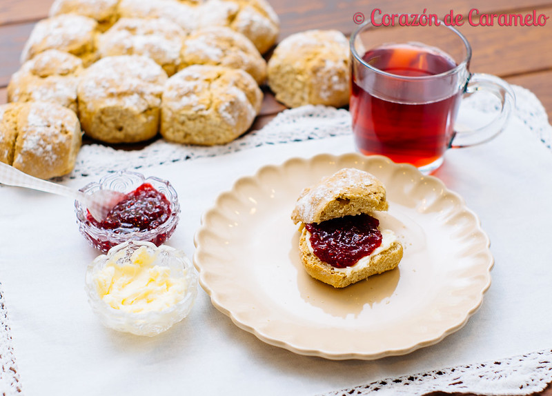 Panecillos de soda irlandeses irish soda bread for Corazon de caramelo