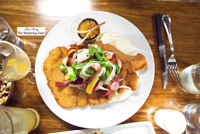 Berkshire Pork Schnitzel