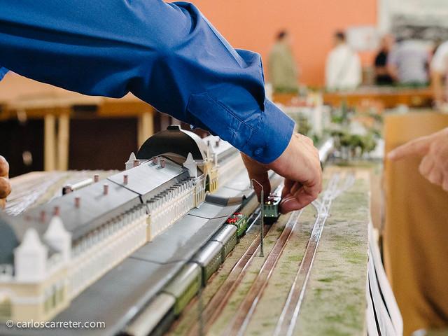 Maqueta ferroviaria
