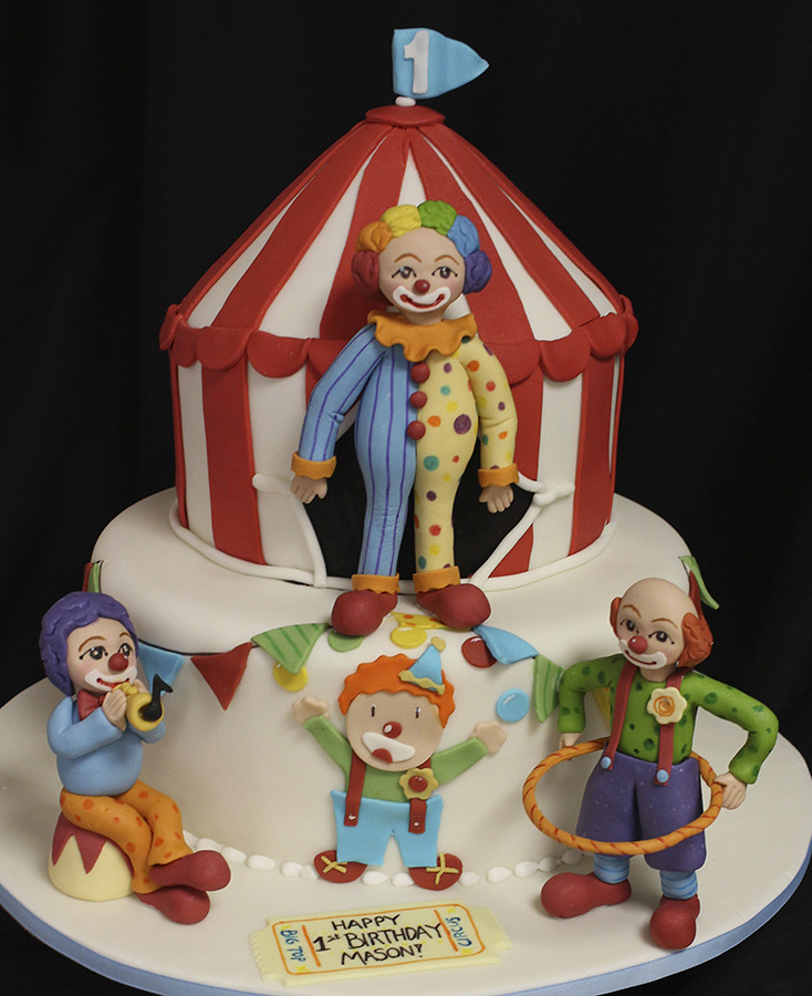 Clown Figurines For Cakes