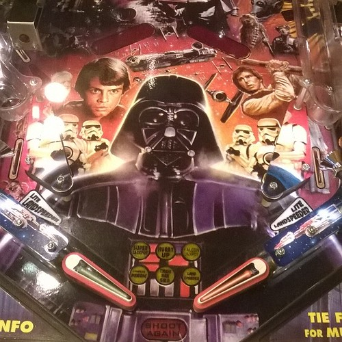 Star Wars pinball. #NERG