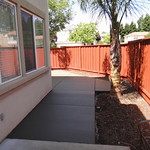 Concrete Walkway And Patio Area Added On In Fairfield