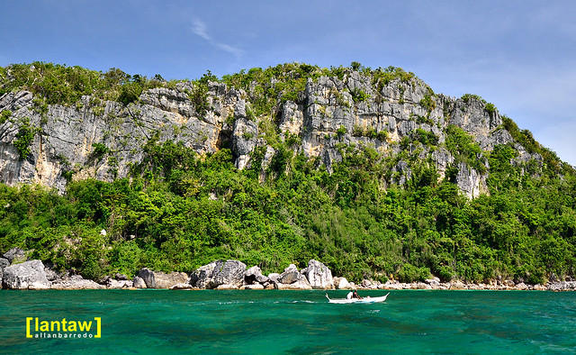 Gigantes Sur limestone cliff