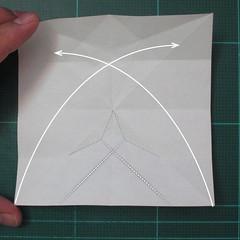 วิธีพับกระดาษเป็นที่คั่นหนังสือรูปผีเสื้อ (Origami Butterfly Bookmark) 013