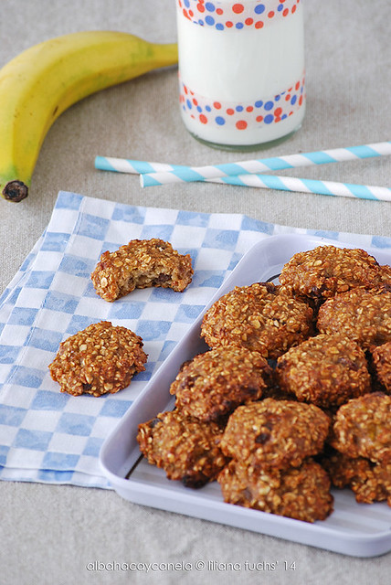 Banana oatmeal healthy  cookies