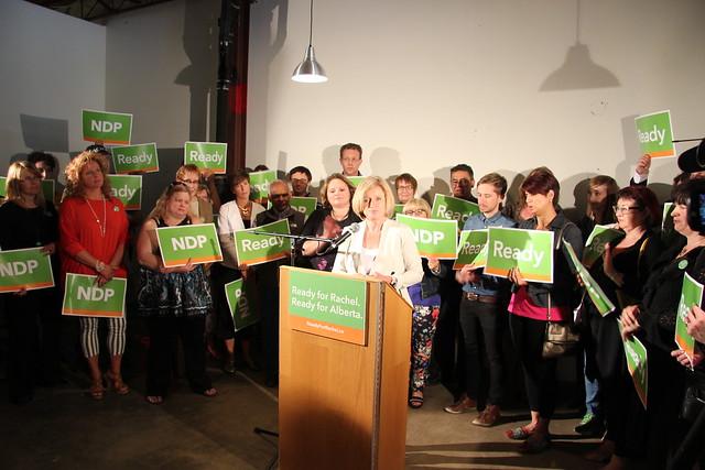 Rachel Notley - NDP leadership