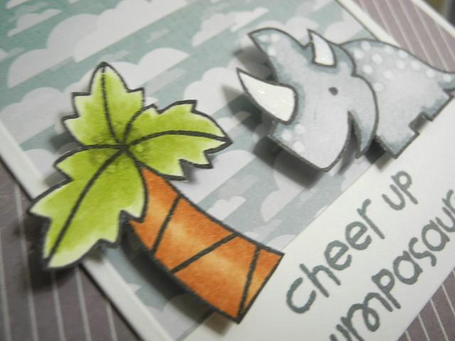 Cheer Up Grumpasaurus (detail)