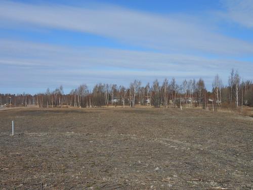 Peltonäkymä, Pohjois-Tapiola Espoo 29.3.2014