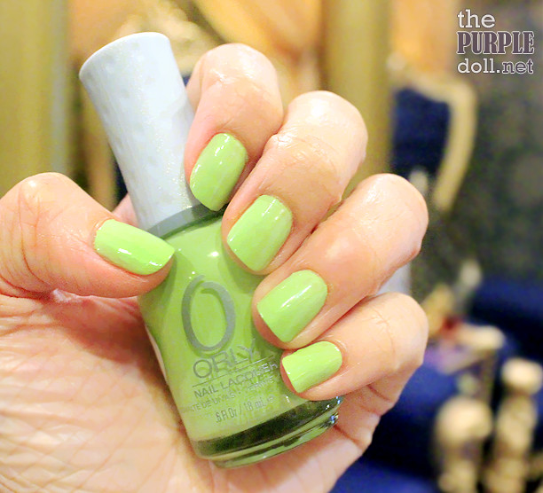 Orly Manicure at Princess Hazel Salon and Spa