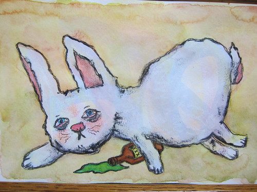 Finished - Boozy Bunny or Ripped Rabbit or Hungover Hare