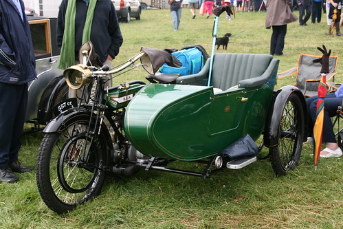 BSA Motorcycle & Sidecar