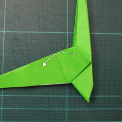 วิธีพับกระดาษเป็นรูปหอยทาก (origami Snail) 017