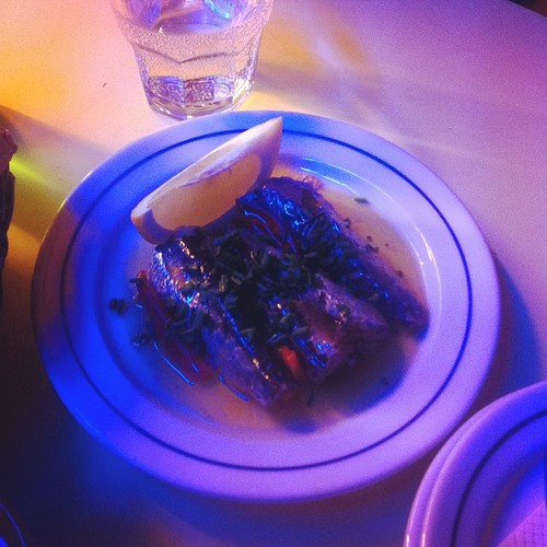 Fat sardines in spicy olive oil w pickles; Sol E Pesca, Lisbon, #portugal