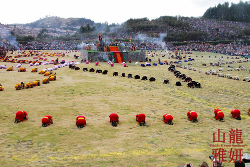peru cusco sungod archeology saqsayhuaman intiraymi qosqo