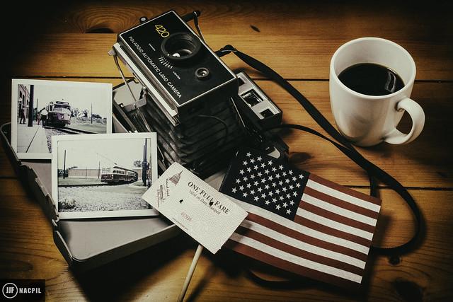 National Capital Trolley Museum Polaroid