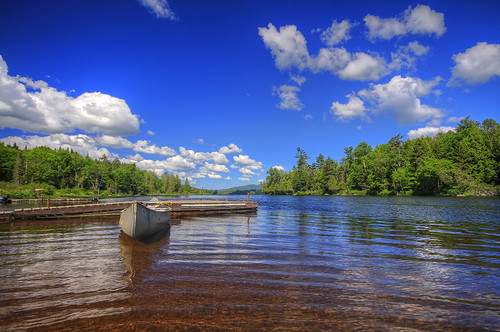 camping summer june canon adirondacks boating summertime canoeing idyllic adk 2014 forkedlake