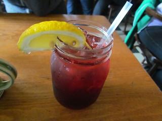 Hibiscus Lemonade at Bandidas