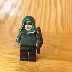 CW's Arrow Custom - I worked really hard on this, and I know the face isn't the best but I would love some feedback.